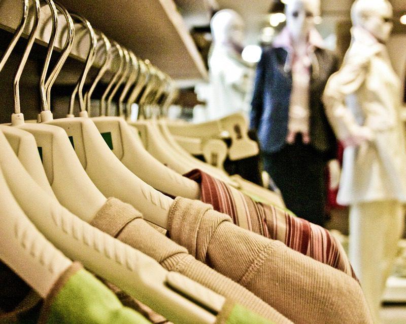 vårnyheter av klær