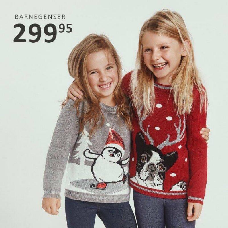 Flott julestrikk til barn!